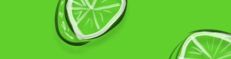 Elegante Verde Limón